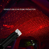Car convenient usb star ceiling light laser projection lights Ambient Atmosphere Galaxy Christmas Interior Decorative Light