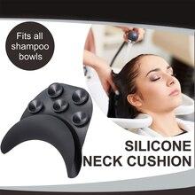 Bath Pillows Bathroom-Products Silicone Hair Shampoo Spa Neck Bowl Salon