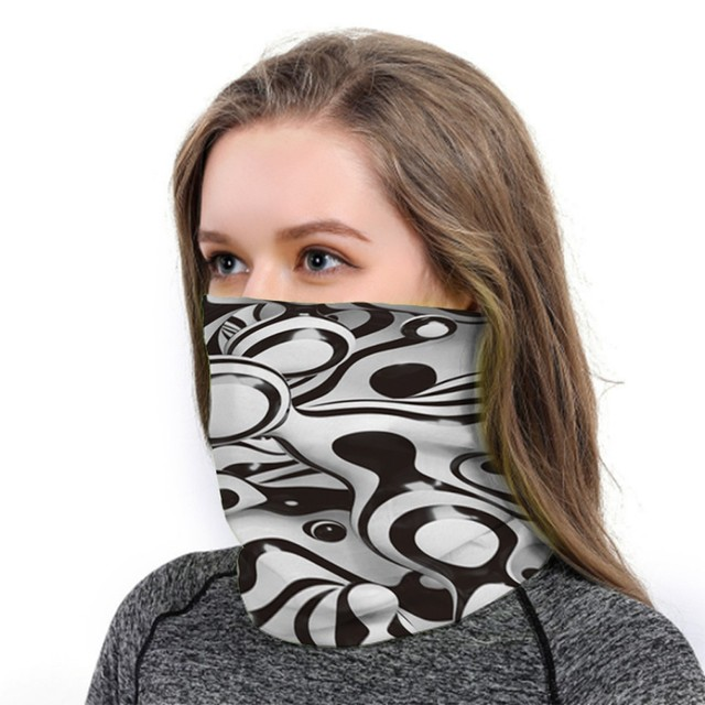 Mask Head Scarf Neck Cover With Safety Filter 6