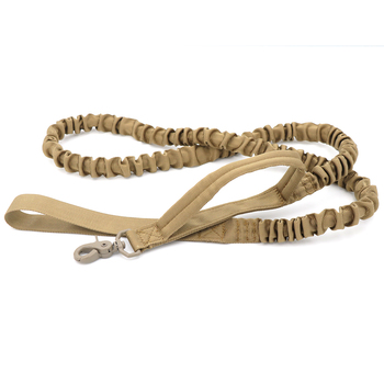 Bungee Dog Leash 2 Handle Cat Dog Pet Leash Elastic Leads Rope  2