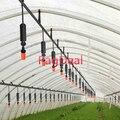 20 м усиленный 16PE шланг DIY Автоматическая капельная ирригационная система полив орошение подвесной анти-капельный вес Спринклер