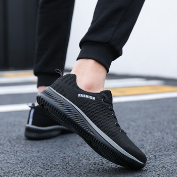 Mesh Men Shoes Lac-Up Casual Shoes Lightweight Comfortable Breathable Walking Sneakers Tenis Masculino Zapatillas Hombre men vintage outdoor walking sneakers men breathable mesh casual shoes men comfortable fashion tenis masculino adulto sneakers