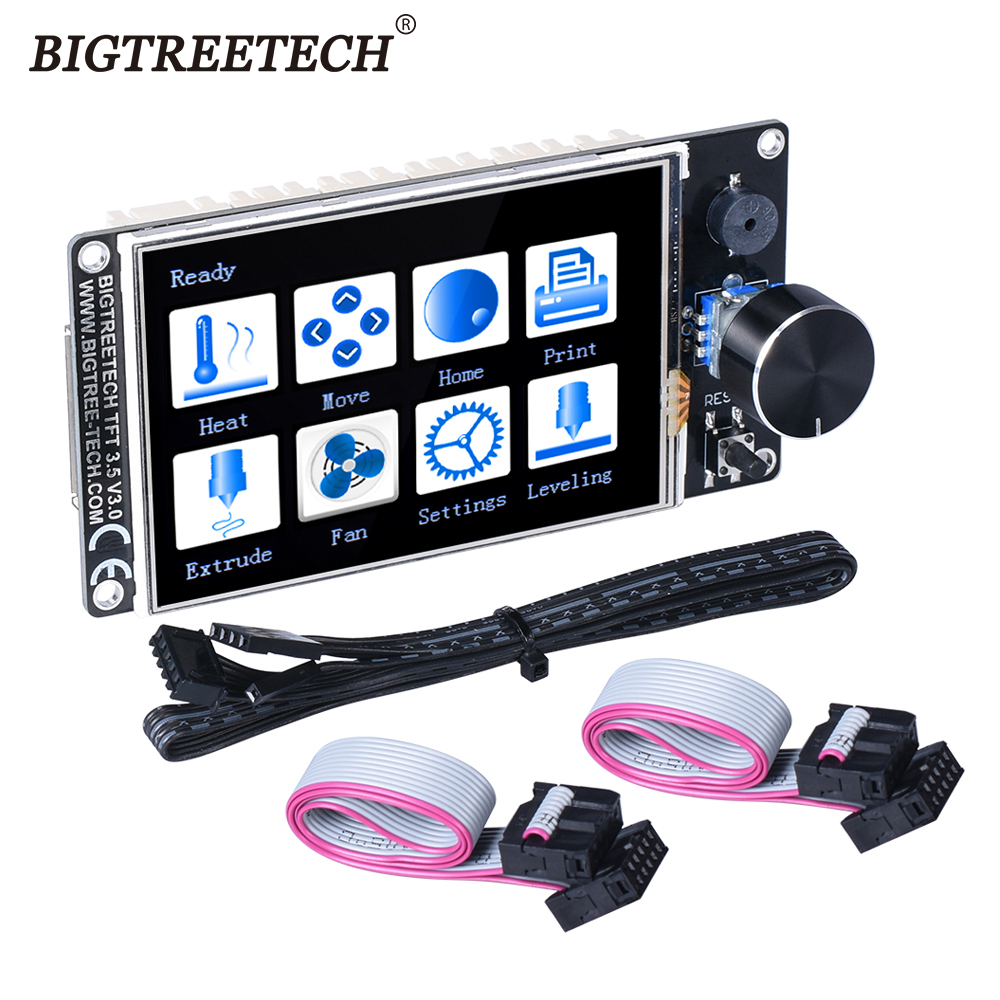 BIGTREETECH TFT35 V3 0 Touch Screen TFT3 5 inch With WIFI 12864 LCD Display Mode panel MKS TFT35 For SKR V1 3 Pro Enders Board