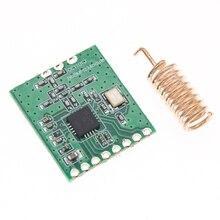 10 pces cc1101 sem fio módulo de longa distância antena trans 868 mhz m115