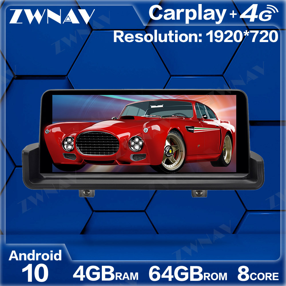4+64G Android 10.0 Car Multimedia Player For <font><b>BMW</b></font> 3 Series <font><b>E90</b></font> E91 E92 E93 2005-2012 GPS Radio navi stereo Touch screen head unit image