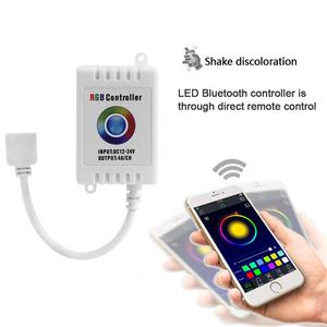 DC5-24V Bluetooth LED RGB Strip Light Wireless Controller for Android IOS