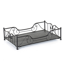 H1 High Quality Pet Supplies Iron  Bed 4 Seasons Universal Strong Load Bearing  House Spray Paint Cat Blanket  Dog Cage