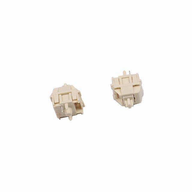 Nouveauté 3 pièces/pack romancier crème x interrupteur linéaire personnalisé clavier mécanique romanciers arbre de crème
