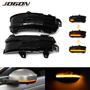 For Land Rover Discovery Sport Range Rover Evoque Velar For Jaguar F-Pace E-Pace LED Dynamic Turn Signal Light Mirror Indicator
