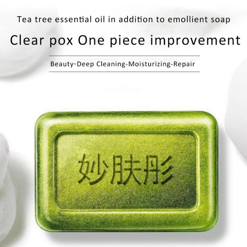 Natural Anti-mites Soap Sterilization Soap Brighten Skin Color Cleansing Moisturizing Oil-control Handmade Face Care Soap 06