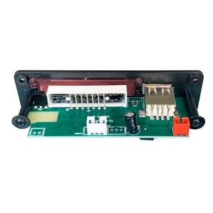 Image 4 - אלחוטי Bluetooth 5V 12V MP3 מפענח לוח MP3 אודיו נגן מודול תמיכה USB SD AUX FM אודיו רדיו מודול עבור אביזרי רכב