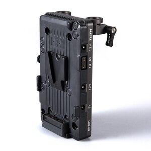 Image 2 - Tilta Placa de batería de montaje de TA BTP2 V G V, adaptador de barra LWS de 15mm para alimentar BMPCC 4K 6K, accesorios para jaula de cámara