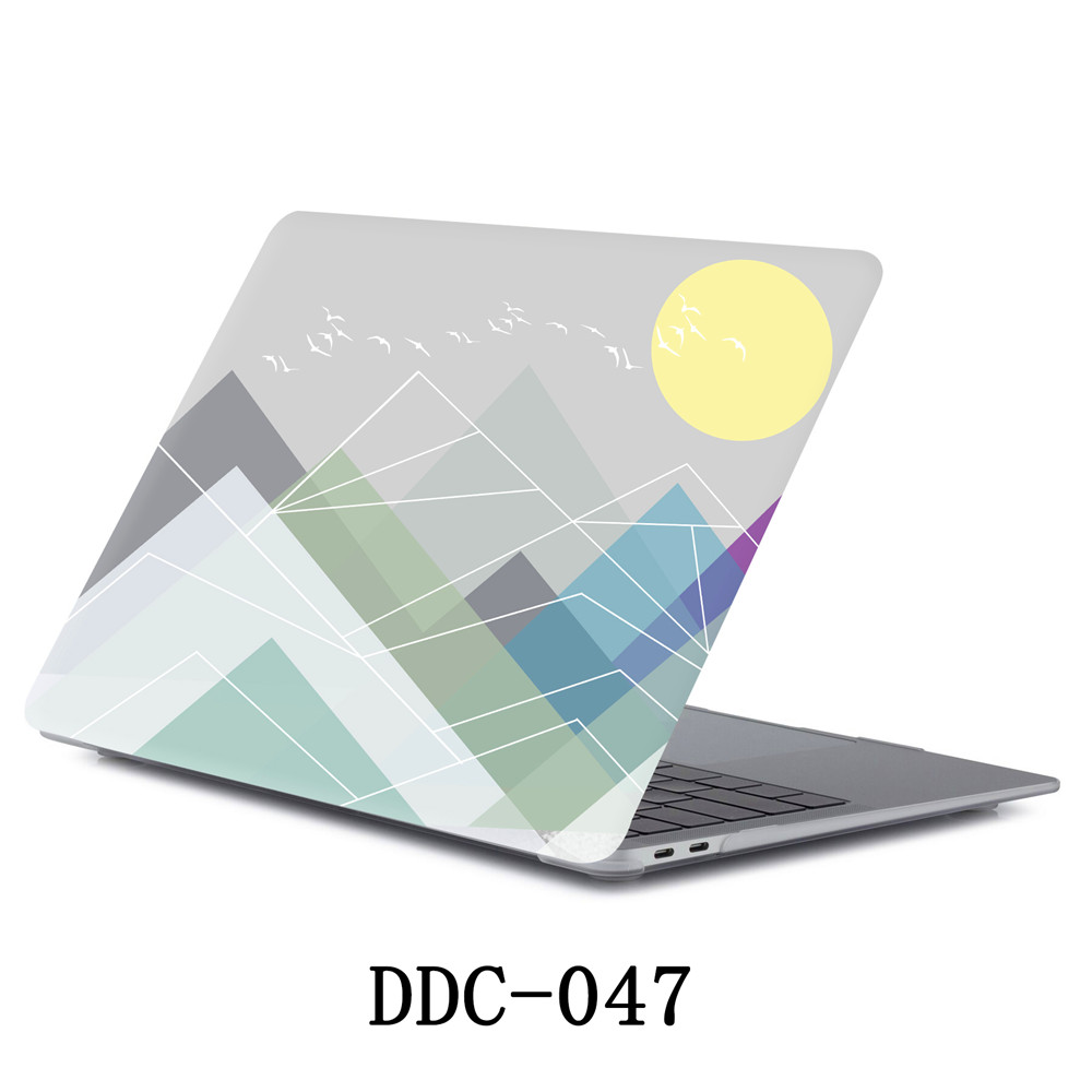 Matte Texture Printing frosted Case for MacBook 35