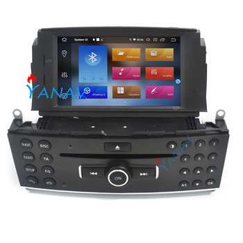 Android 10.0 car radio palyer For-Mercedes Benz C200 C180 W204 2007-2010 touch screen car video dvd player receiver autoradio image