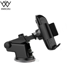 купить XMXCZKJ Car Phone Mount Dashboard Windshield Cell Phone Holder Cradle for Car with Sticky Suction & Easy One-Touch for iPhone Xs по цене 438.98 рублей