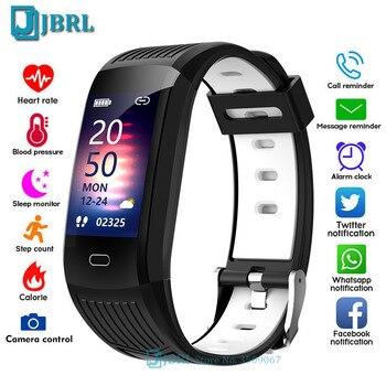 Novo relógio inteligente 2021 mulheres homens smartwatch rastreador de fitness esportes bluetooth à prova dwaterproof água pulseiras para android ios relógios digitais 1