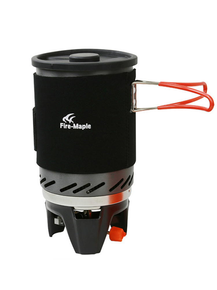 Camping Stoves Bowl Stove-Heat-Exchanger Gas-Burners Cooking-System Fire-Maple Star FMS-X1