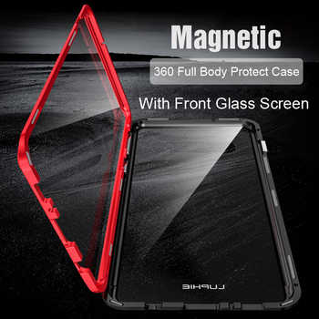 Full Body Protective Case For Samsung Galaxy S10 Plus S9 Note 9 Magnetic 360 Bumper Cover For Samsung S10 Case &Tempered Glass - Category 🛒 Cellphones & Telecommunications