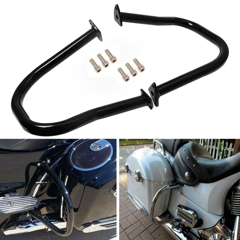 SLMOTO Black Rear Highway Bars Fit for Indian Chief Classic Vintage 2014-2020 19 Dark Horse