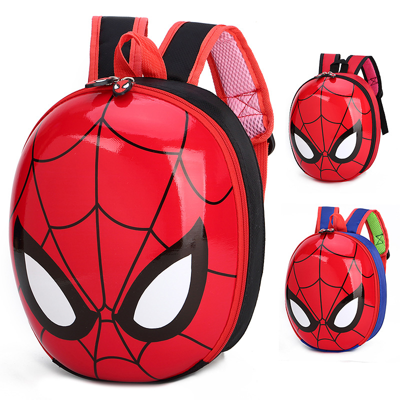 NEW Avengers SpiderMan Pattern Backpack Model Cos Prop Knapsack Collection Schoolbag Gift Toys For Children