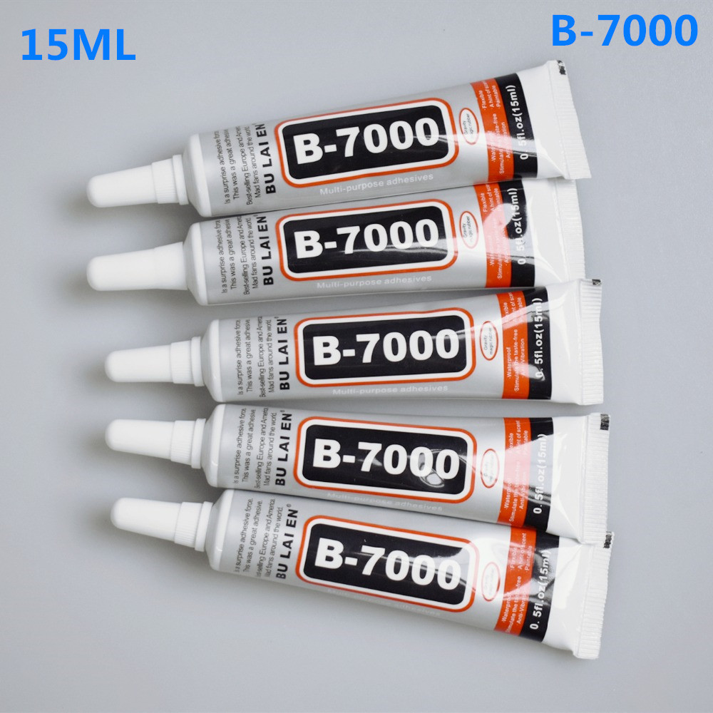 1 Pc 15ML B-7000 LCD Mobile Phone Screen Repair Glue Jewelry Inlay Special Transparent Plastic B7000 Repair Affordable