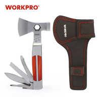 WORKPRO 12 IN 1 Multi Tools Axe Heavy Duty Twin Axe/Hammer Pocket Multifunctional Tool