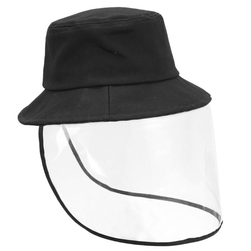 Multi-function Protective Cap Anti Infection Protective Hat Eye Protection Anti-fog Windproof Hat Removable Face Cover