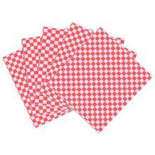 100 листов пищевая оберточная бумага пищевая вощеная бумага сорт смазка бумага для упаковки бутербродов гамбургер фри оберточная бумага