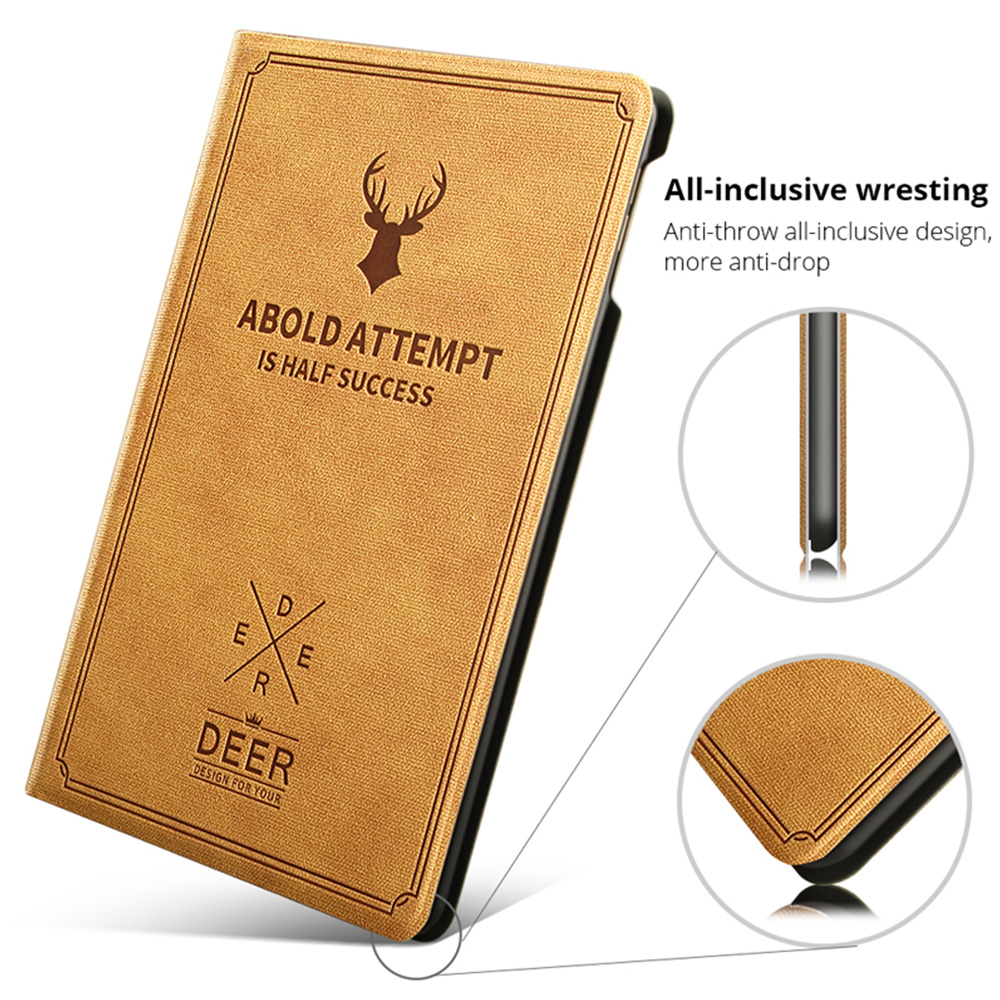 Retro Deer Pattern style Case For iPad Air 4 10 9 2020 A2324 A2072 cover For