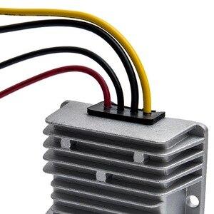 Image 5 - جديد تيار مستمر 24 فولت إلى 12 فولت تنحى 20A 240 واط محول سيارة امدادات الطاقة تيار مستمر وحدة UK 72x72