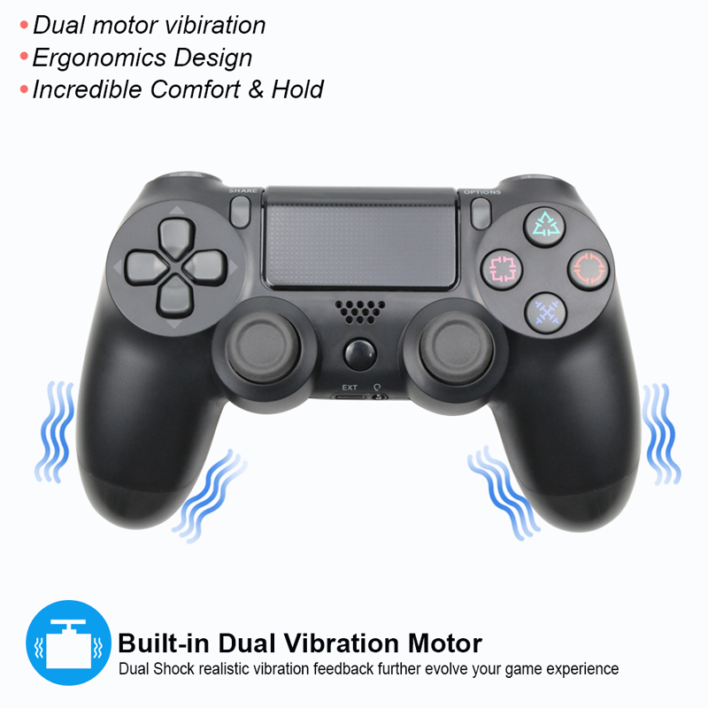 Bluetooth Wireless/Wired Joystick for PS4 Controller Fit For mando ps4 Console For Playstation Dualshock 4 Gamepad For PS3 3