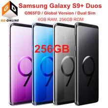 Samsung Galaxy S9 + S9 Plus Duos G965FD Dual Sim 256G ROM 6G RAM Globale Version Octa Core 6.2