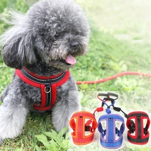 Dog Harness Vest Mesh No Pull Dog Harness Soft Padded Pet Puppy Harnesses Adjustable for Small Medium Large Dogs Teddy M L XL