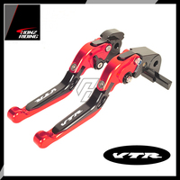 For Honda VTR1000F / FIRESTORM VTR 1000 F 1998 2005 Motorcycle Foldable Brake Clutch Lever