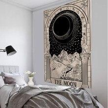 Parure murale en carte de Tarot, couvre-lit d'astrologie, de Divination, pour la plage