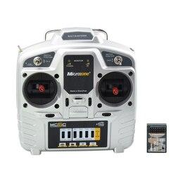 Mc6c 6 Channel 2.4G Aeromodel 800m Transmission Remote Control Kit 4WD Mecanum Wheel Car RC Smart Car Ros Robotics