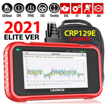 Launch X431 CRP129E OBD2 Car Diagnosis Scanner For ENG/AT/Airbag/SRS&EPB Oil SAS ETS TMPS Reset For 1000+Kinds Car