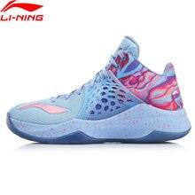 Li-ning men sonic td na quadra sapatos de basquete cj mccollum luz espuma durável forro li ning sapatos esportivos tênis abpp033