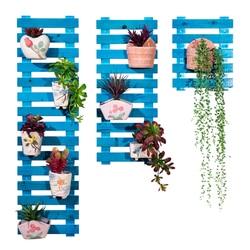 Ścienny stojak na kwiaty balkon z litego drewna wielowarstwowy kwiat stojak na kwiaty salon dziedziniec wielowarstwowy kwiat do uprawy w pomieszczeniu stojak na donicę Półki dla roślin    -
