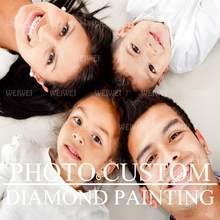 Personalizado personalizado pintura de diamante personalizado pessoal 5d diy pintura diamante kits broca completa para adultos presentes para decoração da parede