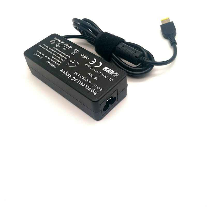 20V 3.25A 65W AC Power Adapter Laptop Charger UNTUK LENOVO X1 Karbon E431 E531 S431 T440s T440 X230s x240 X240s G410 G500 G505