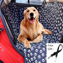 New Waterproof Pet Dog Car Blanket Golden Retriever Labrador Alaska Rottweiler Seat Cover Hammock Foldable Anti Slip Mats With Safety Belt Cat Carrier Outdoor Travel Accessories
