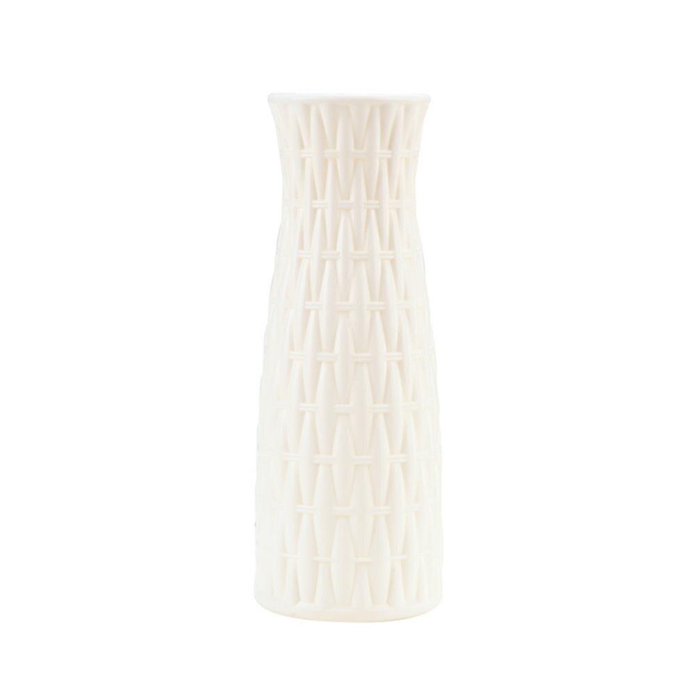 Скандинавском стиле Цветочная корзина ваза для цветов и рисунком в виде птичек-оригами Пластик ваза мини бутылка имитация Керамика украшение цветочный горшок для дома - Цвет: RL1267C
