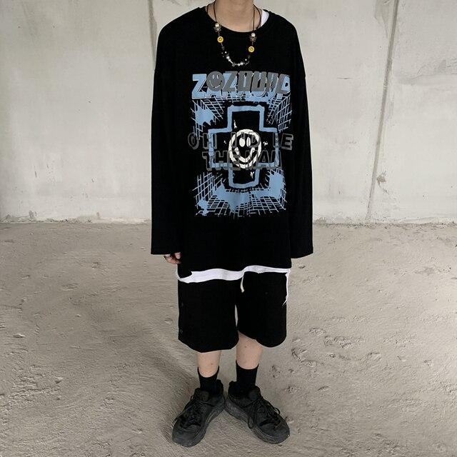 Купить футболка с принтом в стиле харадзюку забавная одежда гонконгском картинки цена