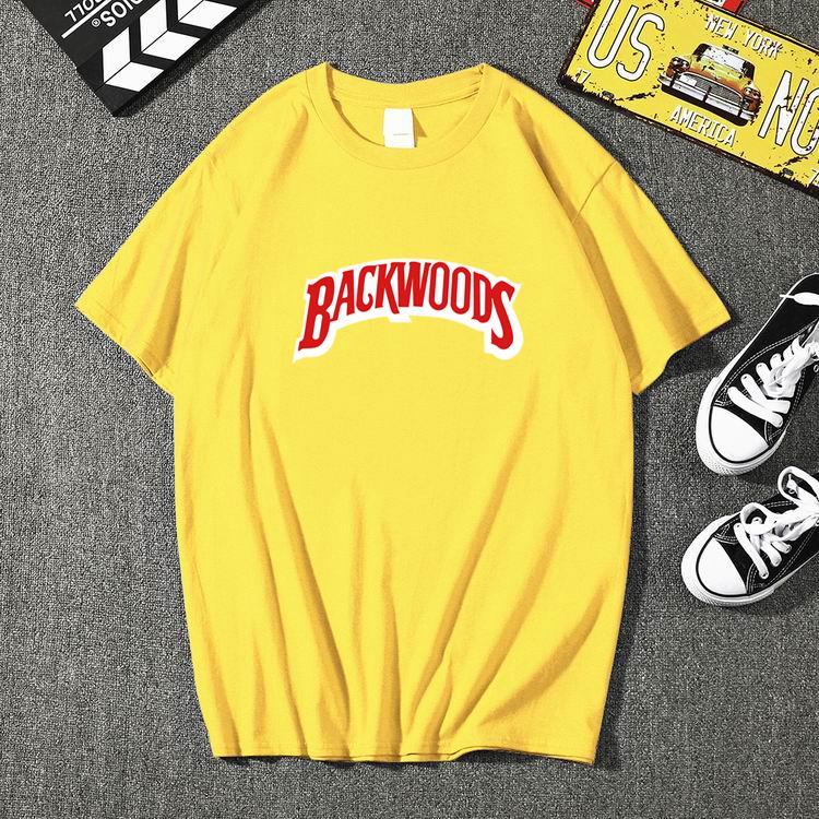Neue Sommer Mnner HINTERWLDLER druck T Hemd Modus Mnner Kurzarm O Neck T-Shirt Baumwolle Hip Hop Rock Streetwear Mnner