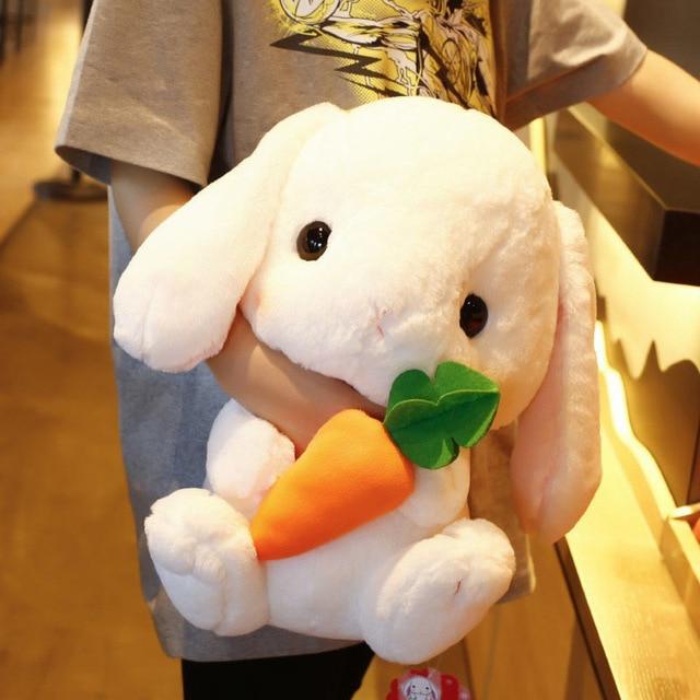 43cm Cute Stuffed Rabbit Plush Toy Soft Toys cushion Bunny Kid Pillow Doll Birthday Gifts for Children Baby Accompany Sleep Toy