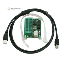 1 Juego de programador PIC K150 ICSP, programación automática USB, desarrollo de microcontrolador con cable USB ICSP