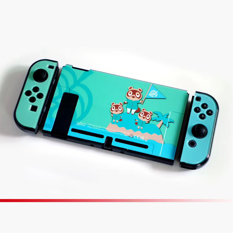 animal crossing switch lite hard case