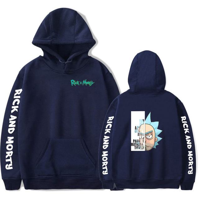 RICK AND MORTY THEMED HOODIE (24 VARIAN)