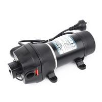 AC220V/110V DC12V/24V household self priming diaphragm pump micro AC pump automatic pressure switch AC pump